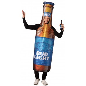 Bud Light Beer Bottle Costume