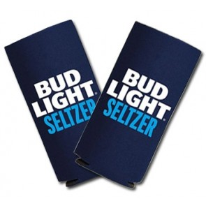 Bud Light Seltzer Slim Can Coozie Set