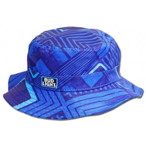 Bud Light Beer Blue Bucket Hat