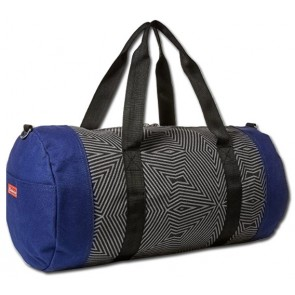 Budweiser Navy Barrel Duffle Bag
