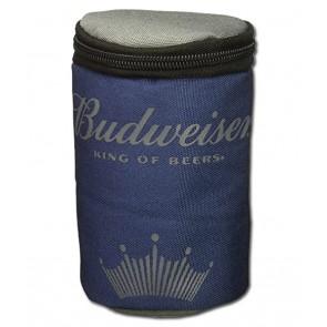 Budweiser Insulated Navy Travel Can Cooler