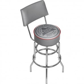 Coors Light Bar Stool w/ Backrest