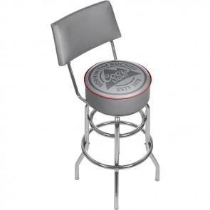 Coors Light Bar Stool w/ Backrest