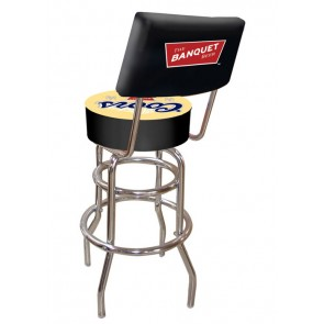 Coors Bar Stool w/ Backrest
