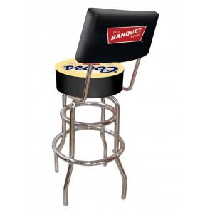 Coors Bar Stool w/ Backrest