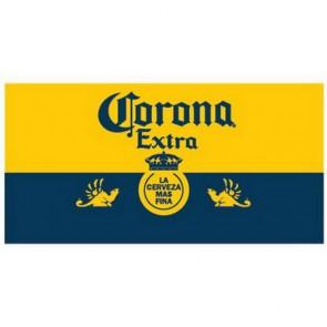 Corona Extra Blue & Gold Beach Towel