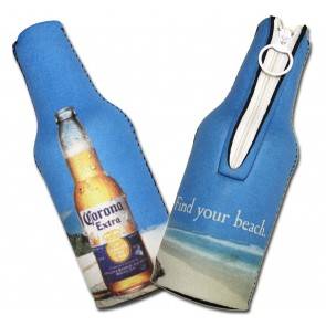 Corona Extra Beach Scene Bottle Koozies