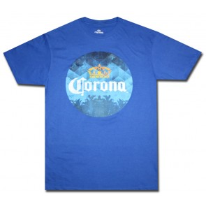 Corona Blue Circle T Shirt