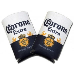 Corona Extra Label Collapsible Coozie Set