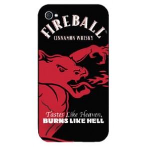 Fireball Whisky iPhone 4G/4S Case