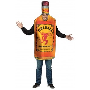 Fireball Whisky Bottle Costume