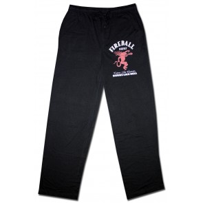 Fireball Whisky Black Lounge Pants