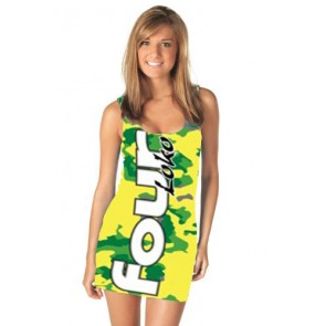 Four Loko Costume : Women's Lemon Lime Dress