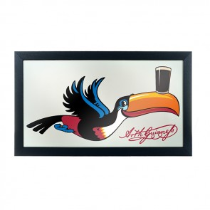 Guinness Flying Toucan Bar Mirror