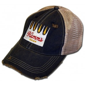 Hamm's Beer Crown Retro Mesh Hat