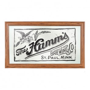 Hamm's Brewing Company Bar Mirror