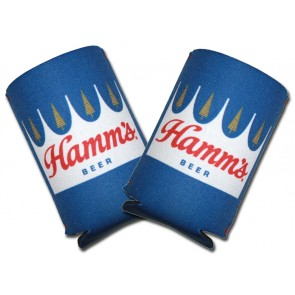 Hamm's Beer Collapsible Coozie Set