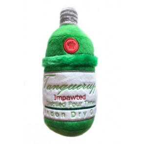 Tanqueruff Gin Plush Squeak Dog Toy