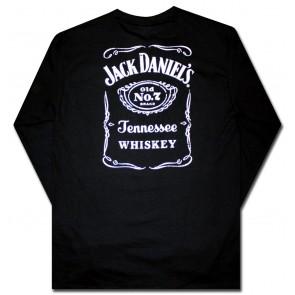 e80c9ee6e6994 Jack Daniel s Saloon Logo Long Sleeve T Shirt