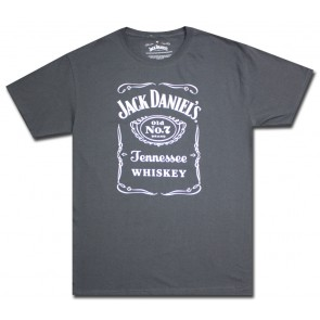 Jack Daniel's Saloon Charcoal T Shirt
