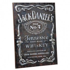 Jack Daniel's 3D Bottle Wall Art