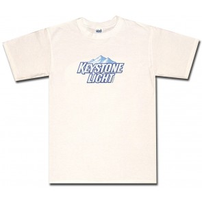 Keystone Light Shirt : Logo T-Shirt