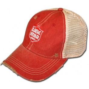 16a0bcb6c63 Lonestar Beer Label Ripped Retro Hat