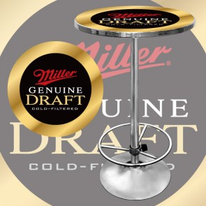 Miller Genuine Draft Bar Table