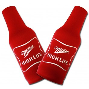 Miller High Life Beer Bottle Koozie Set