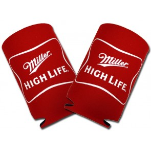 Miller High Life Collapsible Koozie Set