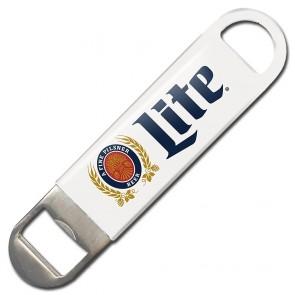 Miller Lite White Speed Bottle Opener