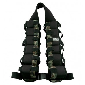 Beer Holster : Camo 12 Pack Ammo Belt
