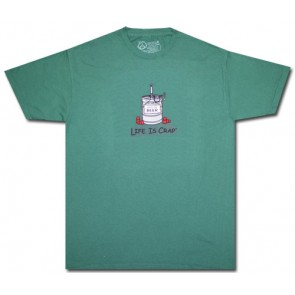 "Life Is Crap ""Empty Keg"" T Shirt"