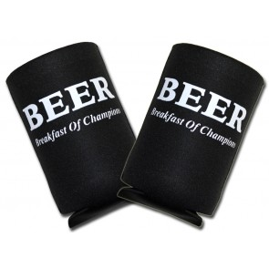 Beer Koozies : Breakfast Of Champions Collapsible Set