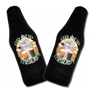 Beer Koozies : Group Therapy Bottle Suit Set