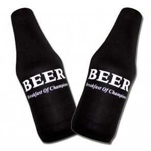 Beer Koozies : Breakfast Of Champions Bottle Suit Set