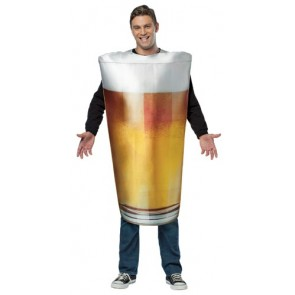 Beer Gl Costume Real Pint Of