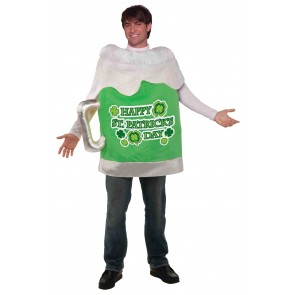 St. Patricks Day Costume : Green Beer Mug