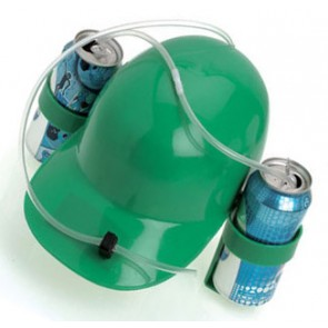Irish Green Beer Drinking Helmet
