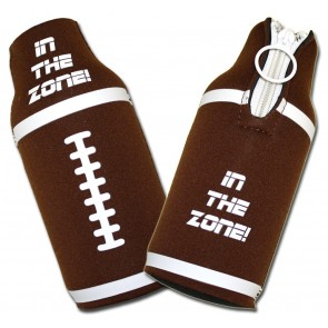 Beer Koozies : Football In The Zone Bottle Suit Set