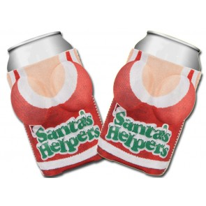 "Boobzie ""Santa's Helpers"" Coozie Set"