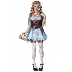 Zombie Beer Maiden Costume : Women's Dress