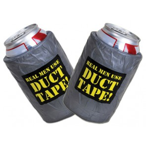 Duct Tape Koozie Set
