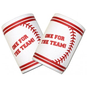 """""""One For The Team!"""" Baseball Coozie Set"""