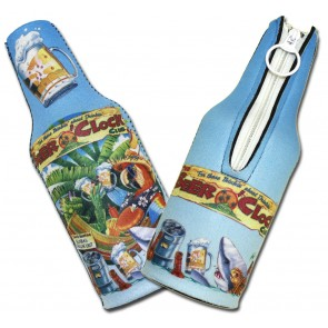 Beer O'Clock Bottle Suit Koozie Set