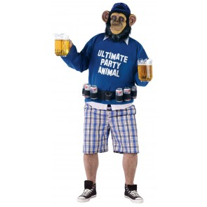 Plus Size Party Animal Costume