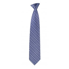 Blue Polka Dots Flask Tie