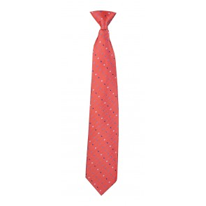 Red Polka Dots Flask Tie