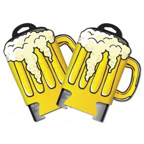 Beer Mug Collapsible Koozie Set