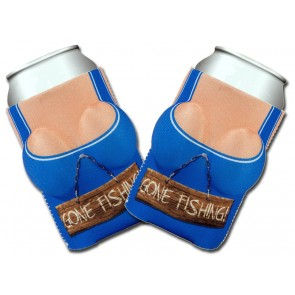 Boobzie Gone Fishing Koozie Set